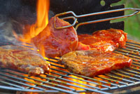 self catering cottages with BBQ